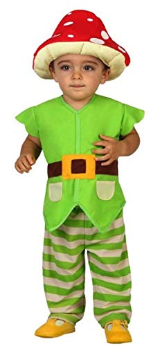 Baby Jungen Fliegenpilz Gartenzwerg Weltbuch Tag Karneval Fasching Kostüm Outfit