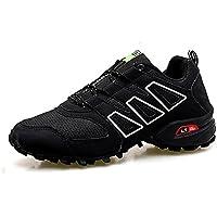 FZUU Wanderschuhe Trekking Schuhe Herren Damen Sports Outdoor Sneaker Armee Grün 35-44 Unisex (43, Blau)