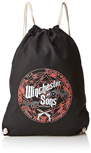 Kostüm Dean Supernatural - NERDO - Winchester and Sons est. 1983 - Turnbeutel, schwarz