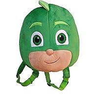PJ Mask Gekko Plush Backpack Kids Rucksack Holiday School Lunch bag