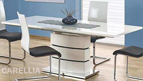 Table A Manger Extensible Design 160÷200/90/75 CM - Blanc
