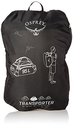 Osprey Transporter 95, borsone da viaggio, unisex, ANVIL GREY, Taglia unica ANVIL GREY