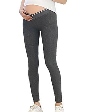 Las Mujeres Bajo El Vientre Super Suave De Apoyo De La Maternidad Skinny Pantalones Largos