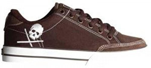 Circa Skateboard Schuhe- ALW50- ChocolateWhite/Skull, Schuhgrösse:36.5 (Herren Schuhe Circa)