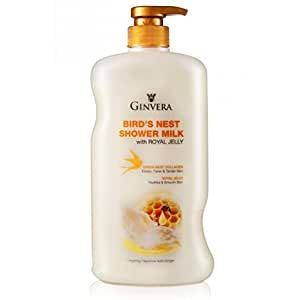 Ginvera Bird Nest Shower Milk With Royal Jelly 750g