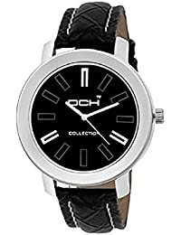 DCH In-96 Black Analogue Wrist Watch For Men And Boys