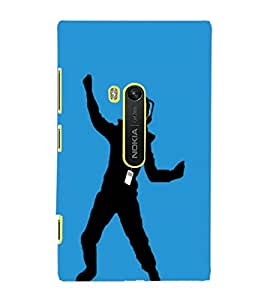 NOKIA LUMIA 920 SHADOW Back Cover by PRINTSWAG