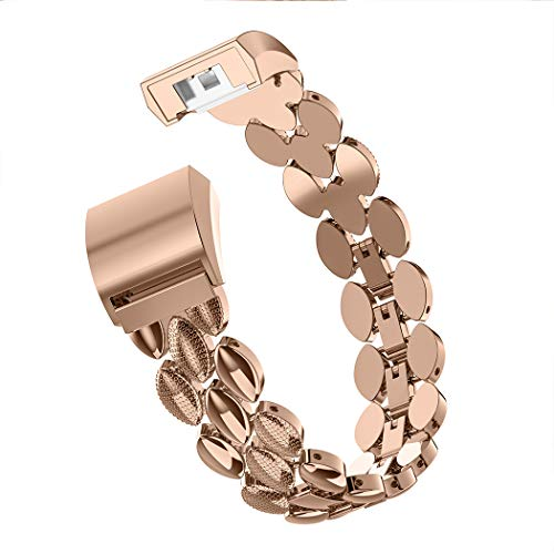 Wearlizer für Fitbit Charge2 Armband Metal Replacement für Fitbit Charge hr 2 Bands/Assesories/Strap Adjustable Fit bit Bands Charge 2