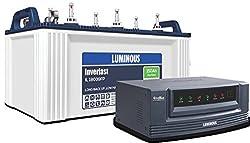 Luminous Ecowatt 650 Inverter With IL18039 150 Ah Battery