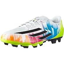 adidas F5 TRX FG Lionel Messi - Zapatillas de fútbol para Hombre weiß/Lime/