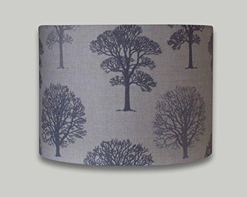 grey-trees-drum-lampshade-20cm-25cm-30cm-35cm-40cm-lamp-shade-lightshade