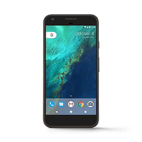 Google Pixel XL Single SIM 4G 32GB Black - smartphones (14 cm (5.5'), 32 GB, 12.3 MP, Android, 7.1, Black)