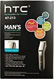 HTC AT-213 Rechargeable Cordless Trimmer for Men  (Multi-color)
