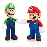 SONGDP Modèles Anime Anime Modèle Personnage Super Mario Mario Jeu Personnage Décoration Sculpture Art Collection Souvenir Décoration De Voiture PVC Modèle Garçon Cadeau 12 cm Statues Anime
