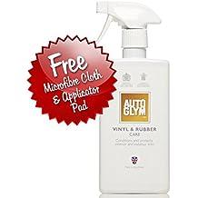 Autoglym–Limpiador de goma y vinilo, kit, Incluye toalla de limpieza de microfibra y aplicador