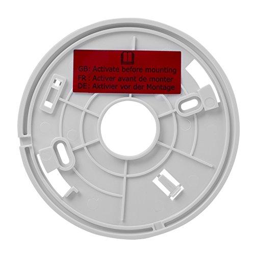 Smartwares 10-Jahres-VDS-Rauchmelder mit Lithium Batterie, weiß, RM218 - 5