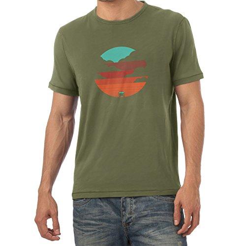 Texlab Bulli Life - Herren T-Shirt, Größe XL, (Road Trip Kostüm)
