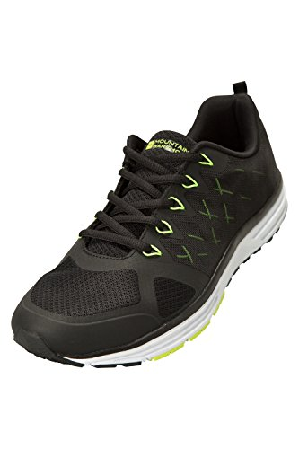 Mountain Warehouse High Speed Herren Turnschuhe Schwarz