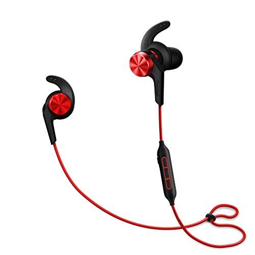 1more e1006 ibfree bluetooth auricolari in-ear con telecomando e microfono compatibili con ios e android (rosso)