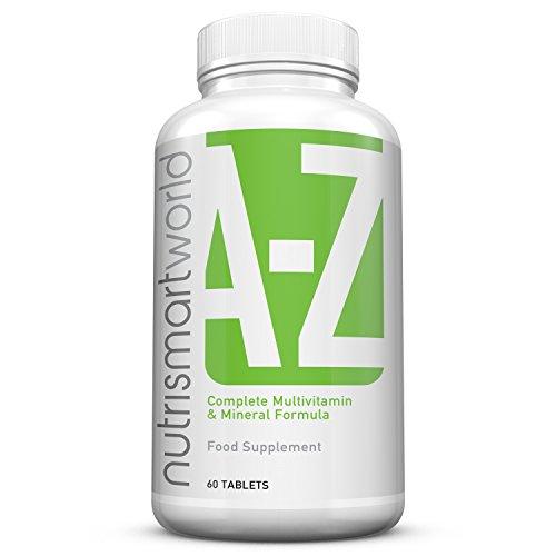 Formula completa multivitaminica e minerale A - Z. 31 Vitamina e formula minerale, ora con Curcuma, Acido Alfa-Lipoico e Estratto di semi d\'uva. Fornitura per 2 mesi. Made in the UK. GMP.