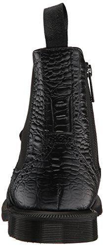 Vibrance black Croco Femme Dr new Stivali Dr Croco Femme Chelsea Boots Schwarz nero Martens Martens Schwarz Vibrance Chelsea New wzUwOY
