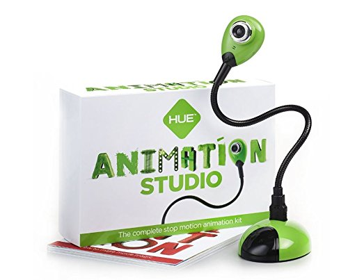 Hue Animation Studio für Windows-PCs & Mac (grün): komplettes Stop-Motion-Animation-Kit mit Kamera (Lego Star Wars-speicher)