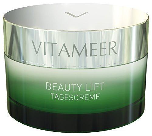 VITAMEER® Gesichtscreme für jüngere Haut, vegan, mit Meereswirkstoffen | perfekt gegen erste Fältchen | hilft, das Hautbild jung zu halten | ohne Parebene, PEG-Stoffe und Paraffine