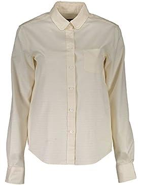Gant 1403.432092 Camisa con Las Mangas largas Mujer Beige 130 40
