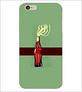 PrintDhaba Bottle D-4170 Back Case Cover for APPLE IPHONE 6 (Multi-Coloured)
