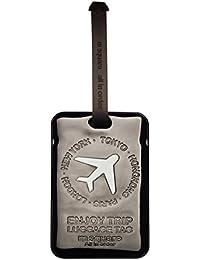 M cuadrado avión equipaje etiquetas