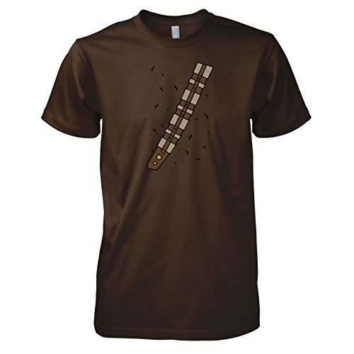TEXLAB - SW: Chewie Style - Herren T-Shirt, Größe XXL, (Wookiee Kostüme)