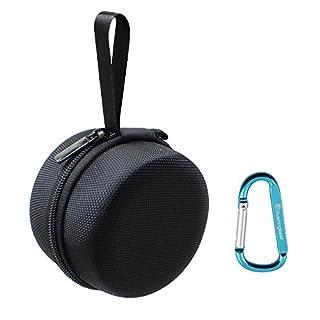 Pushingbest Tragetasche Schutzhülle Abdeckung Tasche Box für Echo Dot(2nd Generation) Black