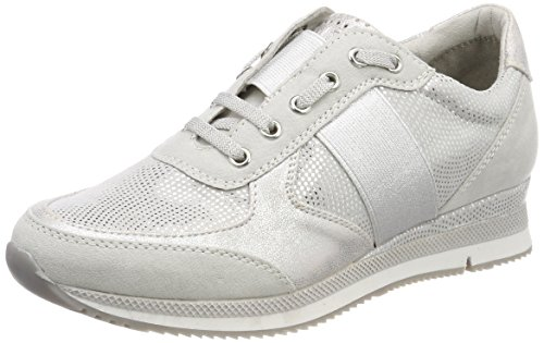 Marco Tozzi 23711, Zapatillas Mujer, Gris Lt.Grey