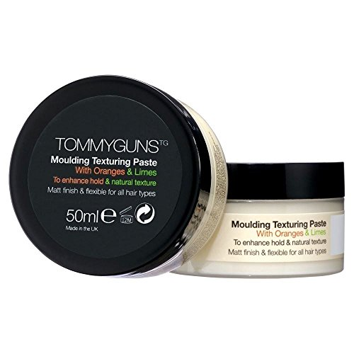 Tommy Guns Hair Salon Moulding Texturing Paste 50ml with Wild Oranges and Limes