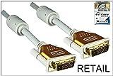 DINIC Premium DVI Kabel DVI-D Stecker/Stecker, 10m