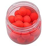 JOOFFF Angeln Auftrieb Ball Brilliant Farbe Schaum Schwimmkugeln Tragbare Angeln Schwimmdock Bobber Angelgerät Zubehör, rot