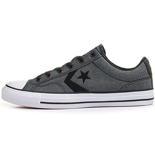 Converse Star Player OX Herren Sneaker grau schwarz (41.5)