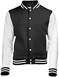 Awdis Varsity Jacket, Sweat-Shirt Homme
