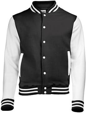 AWDis Varsity Jacket, Chaqueta Bomber para Hombre
