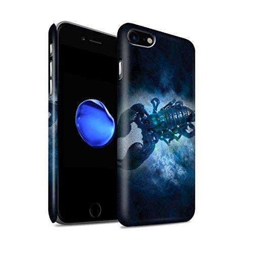 STUFF4 Matte Snap-On Hülle / Case für Apple iPhone 8 / Löwe/Leo Muster / Tierkreis Star Schild Kollektion Skorpion
