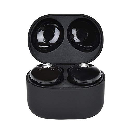 Yizhet Mini Bluetooth 4.2 auriculares Earbud Deportivo In-Ear Headset, Tecnología de Estereofonía, Cancelación de Ruido, Earphones con Caja de Carga, manos libres para móviles iPhone, Android, tabletas bluetooth,etc