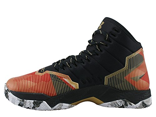 Under Armour Sc30 Topgame multicolore, chaussures de basketball homme GOLD / BLACK