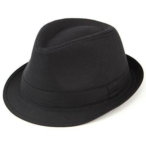 hawkins-plain-black-cotton-trilby-hat-58