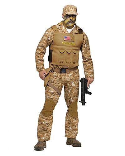 Seal Soldat Kostüm (Navy Uniform)