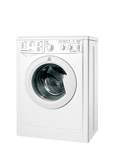 Indesit IWUC 41051 C ECO EU Independiente Carga frontal 4kg 1000RPM A+ Blanco - Lavadora (Independiente, Carga frontal, Blanco, Botones, Giratorio, Izquierda, Blanco)