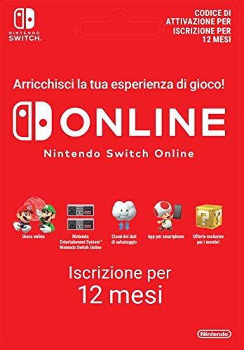 Foto 365 Giorni Switch Online Membri (Individual) | Nintendo Switch - Codice download