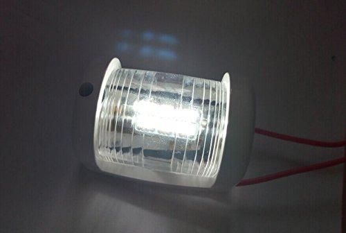ZONCENG Marine Boot Yacht Masthead Navigation Licht 12V LED Mini Größe White Light 225°