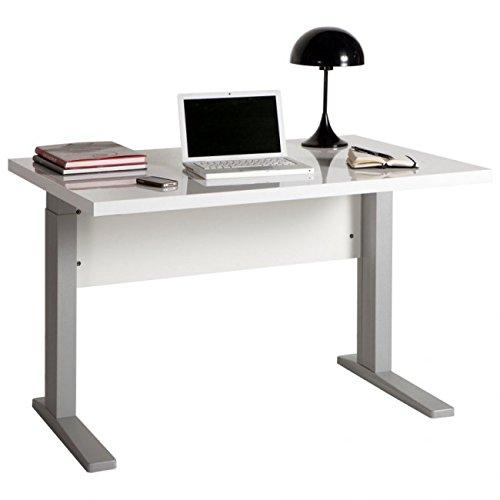 Composad Escritorio Oficina Color Blanco Lacado Patas
