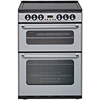 Newworld NWEC600DOm Freestanding A/A Rated Electric Cooker in Silver