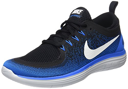 Nike Free RN Distance 2, Scarpe da Corsa Uomo Multicolore (Armory Navy / White / Black / Team Royal)